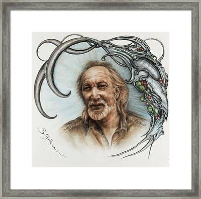 Pierre Souchaud Framed Print by Guillaume Bruno