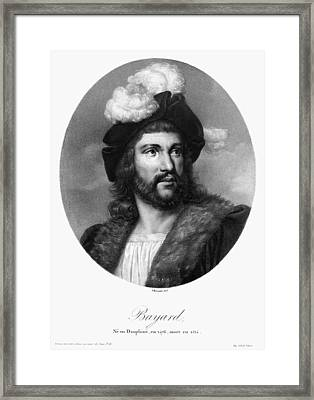 Pierre Terrail Bayard (c1573-1524) Framed Print by Granger