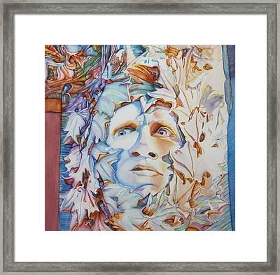 Pierre The Green Man Framed Print