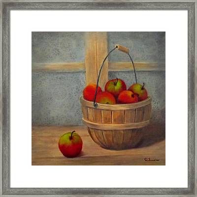 Pies Anyone Framed Print