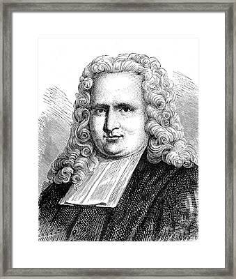 Pieter Van Musschenbroek Framed Print