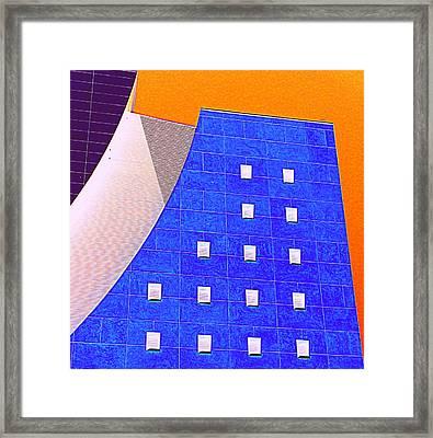 Pig Eye Windows Framed Print by Randall Weidner