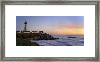 Pigeon Pight Lightouse Framed Print by Francesco Emanuele Carucci