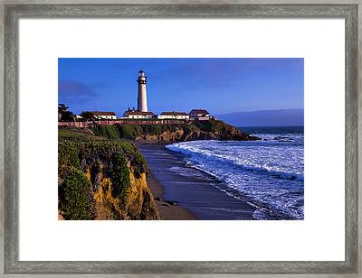 Pigeon Point Landscape Framed Print by Garry Gay