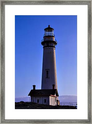 Pigeon Point Lighthouse 2 Framed Print by Garry Gay