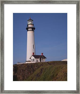 Pigeon Point Lighthouse #2 Framed Print by Jim Snyder