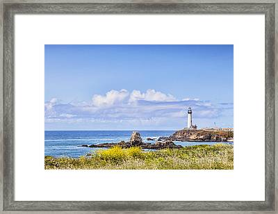 Pigeon Point Lighthouse California Framed Print
