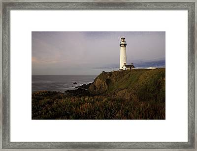 Pigeon Point Lighthouse Framed Print by Jim Snyder