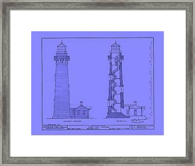 Pigeon Point Lighthouse Plan - California Framed Print