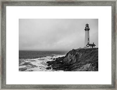 Pigeon Point Lighthouse Framed Print by Ralf Kaiser