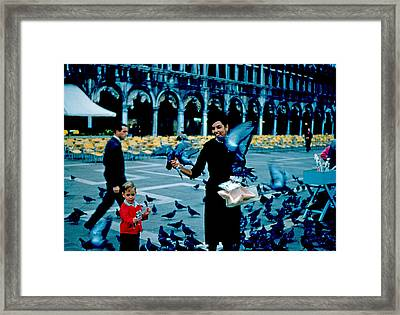 Pigeons 1961 Framed Print by Cumberland Warden