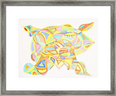 Pigs Can Fly Framed Print by Stormm Bradshaw