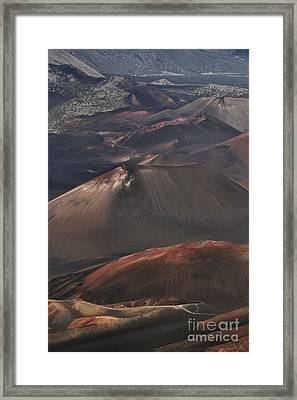 Pihanakalani Haleakala Volcano Sacred House Of The Sun Maui Hawaii Framed Print