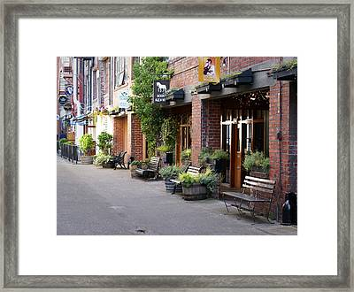 Pike Place Seattle Framed Print by Mike Prittie
