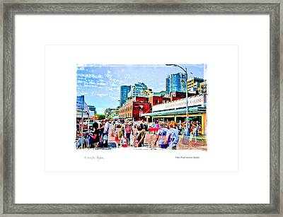 Pike's Place Market Framed Print by Jim Thompson