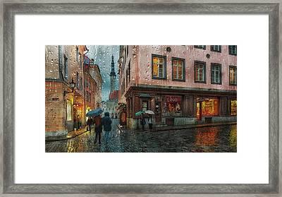 Pikk Framed Print
