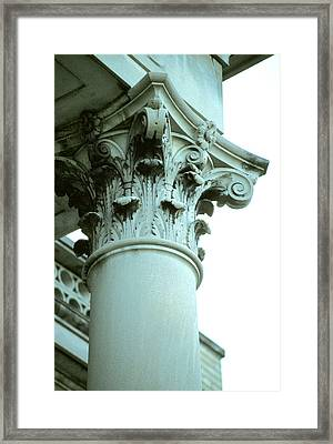 Pilar Of Strength  Framed Print by Jon Neidert