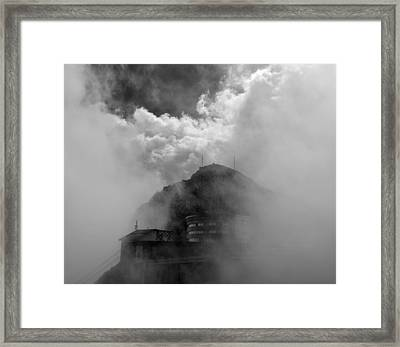 Pilatus Unveiled Framed Print by Aaron Bedell