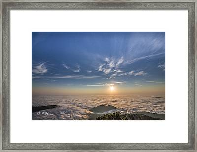 Pilchuck West 2 Framed Print by Charlie Duncan
