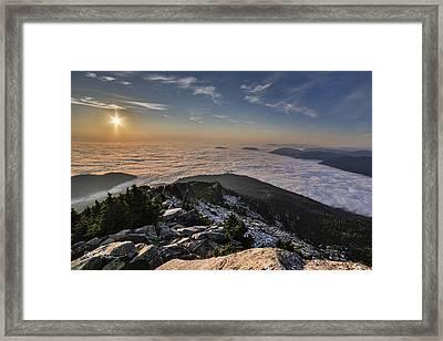 Pilchuck West  Framed Print