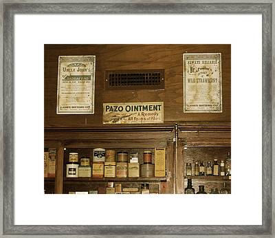Framed Print featuring the photograph Piles Of Stuff by Roseann Errigo