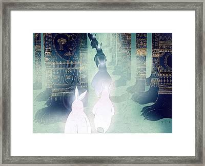 Pilgrimage Framed Print