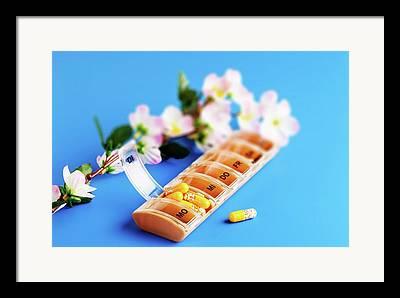 Pill Box Framed Prints