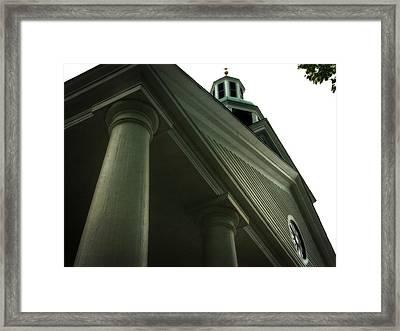 Pillar Church Framed Print
