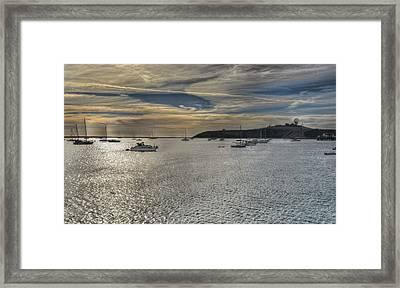 Pillar Point Sunset Framed Print