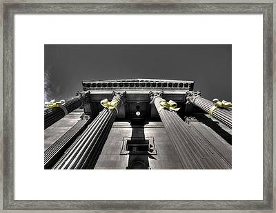 Framed Print featuring the photograph Pillard by David Andersen