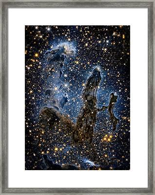 Pillars Of Creation High Definition 1 Framed Print