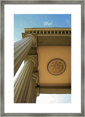 Pillars Of Strength And Hope  Framed Print by Inspired Nature Photography Fine Art Photography