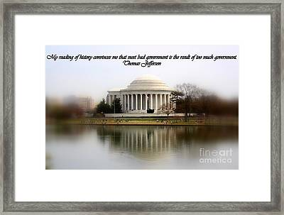 Pillars Of Strength Framed Print by Patti Whitten