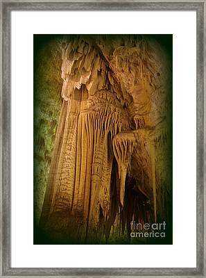 Pillars Of Time Framed Print