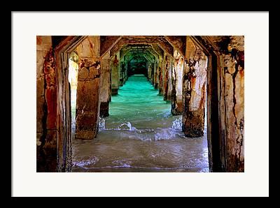 Reflective Water Framed Prints