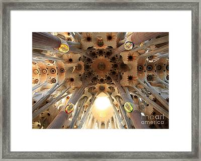 Pillars Of Truth Framed Print by Juan Romagosa