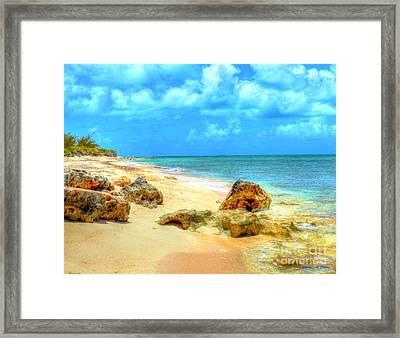 Pillory Beach Framed Print by Debbi Granruth