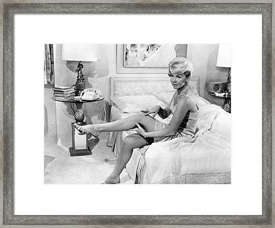 Pillow Talk, Doris Day, 1959 Framed Print