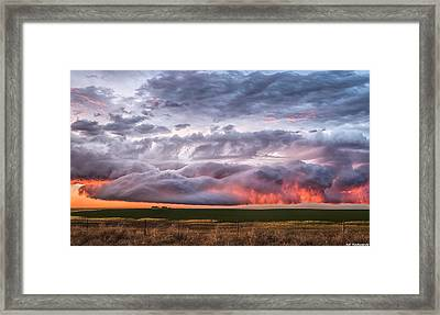 Pillow Top Framed Print
