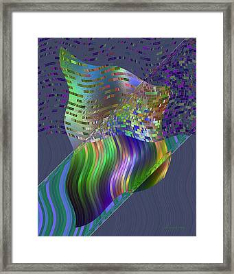 Pillowing Framed Print