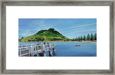 Pilot Bay 280307 Framed Print
