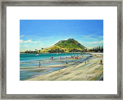 Pilot Bay Mt M 050110 Framed Print