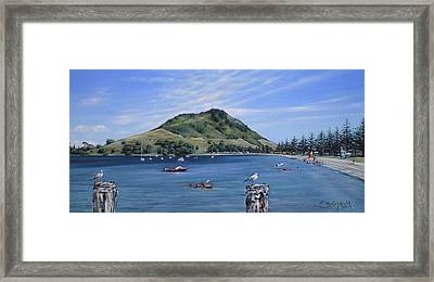 Pilot Bay Mt M 291209 Framed Print
