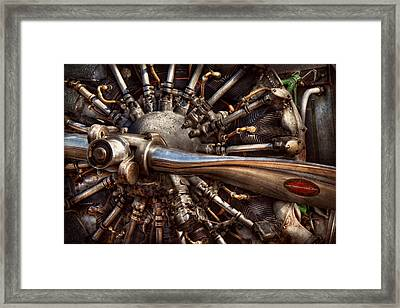 Pilot - Plane - Engines At The Ready  Framed Print