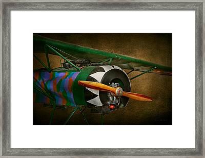 Pilot - Plane - German Ww1 Fighter - Fokker D Viii Framed Print by Mike Savad