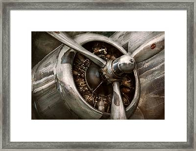 Pilot - Prop - Propulsion Framed Print by Mike Savad