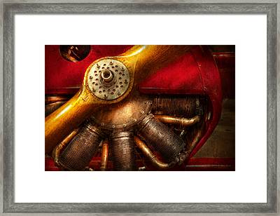 Pilot - Prop - The Barnstormer Framed Print