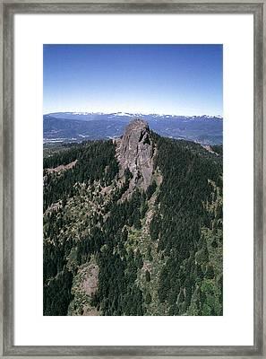 Pilot Rock Framed Print