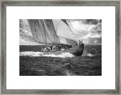 Pilot Schooner Virginia Framed Print