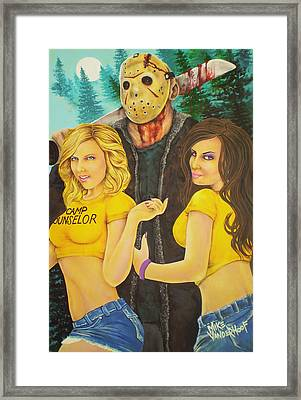 Pimp Jason Framed Print by Michael Vanderhoof